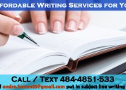 Affordable writing services for you