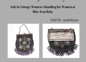 Online vintage women's handbag at blue jean baby