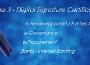 Buy class 3 digital signature certificate at best