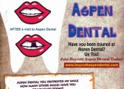 Calling out for aspen dental victims