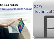 Contact 1-800-674-9438 hp laptop support number
