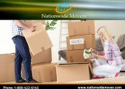 High rated house hold movers - nationwide movers