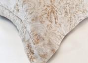 Bees linen & silk pillow shams - annasova.com