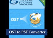 Recover ost files using pds ost to pst recovery so