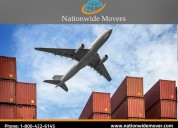 Moving overseas is easy now with nationwide movers