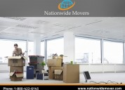 Safe office moving with professional office movers