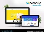 Hollywood web design services - simplio web studio