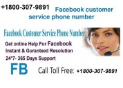 Facebook account recovery number +1800-307-9891