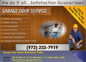 Top garage door installation ($25.95)richardson,tx