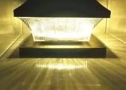 Solar post cap lights 4x4