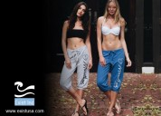 Relaxing capri pants with high quality material