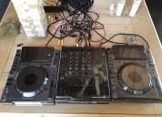New 2x pioneer cdj-2000nxs2 turntable & djm-2000nx