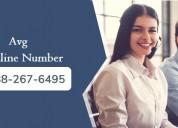 Tech support number | avg customer support helplin