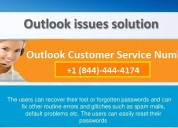 Outlook support number +1 (844)-444-4174