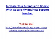 Increase your business on google with google