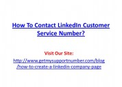 How to contact linkedin customer service number?