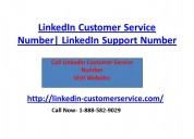 Linkedin support number