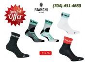 Bianchi milano men's cycling socks | winter 2018