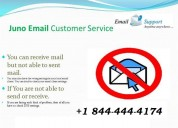 Juno email technical support number +1 844 4444174