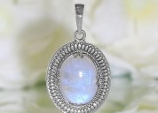 """ moonstone pendant-scented ambition"""