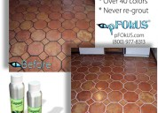 Commercial colored grout sealer - caponi epoxy gro