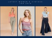 Latest vintage women's tops collection frisco | tx