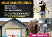 24/7 emergency garage door repair, spring repair &