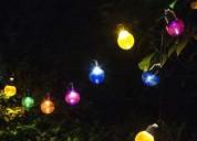 Solar fairy lights outdoor