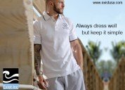 Classy men's shirts are on sale at exist inc
