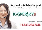 Contact 1-833-284-2444 kaspersky customer helpline