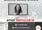 Hand crafted web design for startups, smb