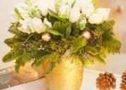 White christmas morning - floral arrangement