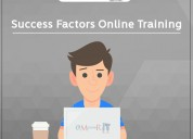 Sap successfactors online training with certificat
