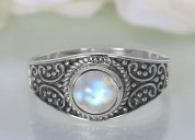 Moonstone Ring Pure Heartbeat
