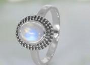 Moonstone ring wonderful illusion-gsj