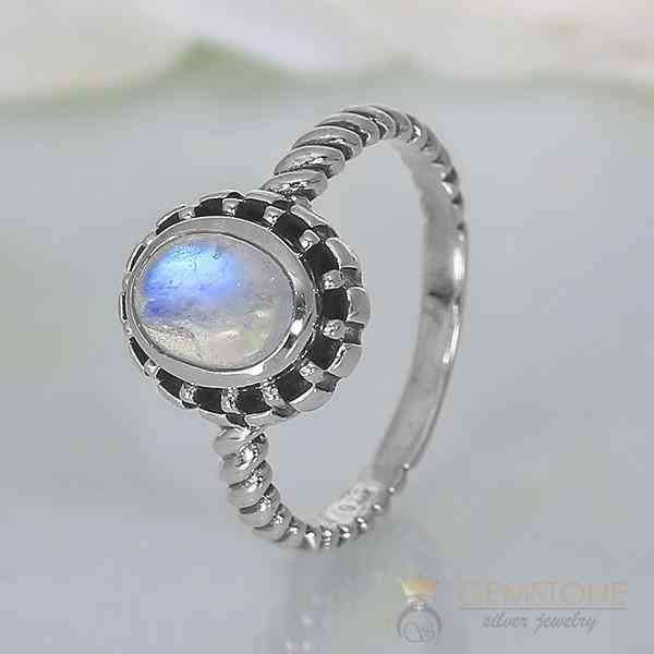 Moonstone Ring Modest Lure