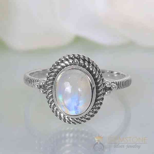 Moonstone Ring Legend Of The Moon