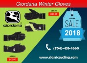 Men's collection - giordana winter cycling gloves