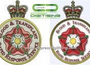 Custom embroidery digitizing services - expressdig