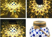 Solar table lamps outdoor, solar jar lights, solar