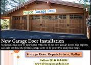 #1 new garage door installation frisco, 75034 tx