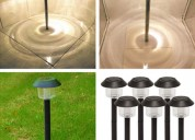 Solar garden lights outdoor, solar walkway lights