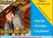 Quickly garage door opener repair services 75039,