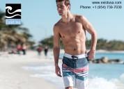 Men designer shorts - exist inc, fort lauderdale
