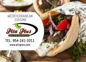 Mediterranean restaurant miami - pita plus