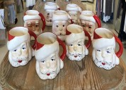 Buy vintage santa mugs at blue jean baby