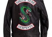 Black leather jacket for mens