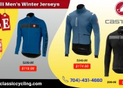 Big sale on castelli winter jersey|classic cycling