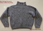 Buy vintage sweaters online at blue jean baby