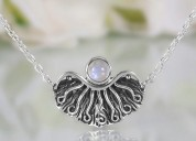 Moonstone necklace - ethereal light